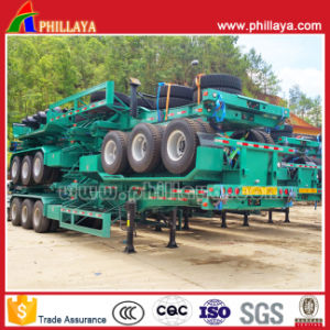 Transport Container Truck Skeleton Container Semi Trailer From 20-52ft pictures & photos