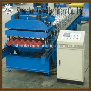 Steel Material Roof Tile Metal Roof Roll Forming Machine pictures & photos