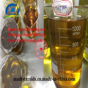 Trenbolone Acetate Muscle Building Anabolic Steroids Yellow Liquid High Pure pictures & photos