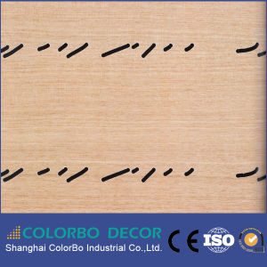 Acoustic Perforated Board Timber Wall Panel pictures & photos