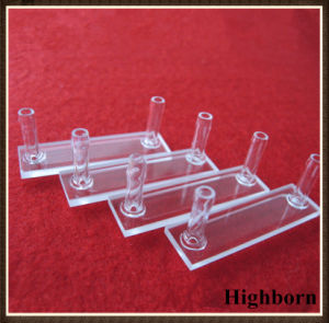 Clear Customized Quartz Flow Cuvette Cell Per Drawing pictures & photos