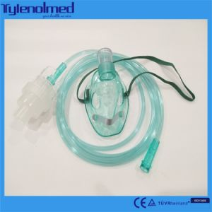 Disposable Medical PVC Nebulizer Mask with Aeresol Kit pictures & photos