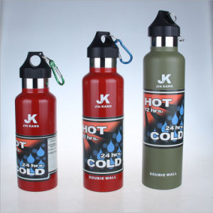 Hydro 15oz 21oz 25oz Double Wall Stainless Steel Vacuum Sport Flask pictures & photos