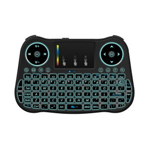 Mt08 2.4G Wireless Keyboard Backlit with Set Top Box pictures & photos
