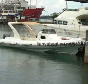Liya 8.3m Inflatable Rib Boat Fiberglass Hull Cabin Boat pictures & photos
