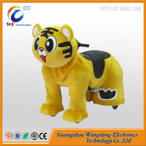 Adult Coin Operated Motorized Plush Riding Animals pictures & photos