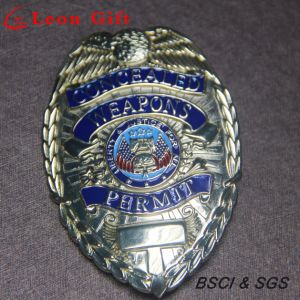 Custom Gold Metal Merit Pin Police Badge for Souvenir pictures & photos