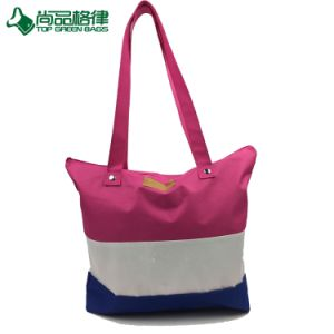 2017 Fashion Polyester Shopping Bag Handbags Ladies Leisure Bag pictures & photos