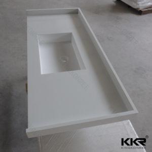 Customized Artificial Marble Quartz Stone Bathroom Vanity Top pictures & photos