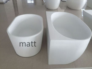 Matt Finish Freestanding Acrylic Bathtub, Size From 1400mm to 1700mm pictures & photos