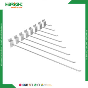 Metal Slatwall Hanger Display Hook with End pictures & photos