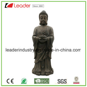 Polyresin Mini Buddha Statue with Candle Holder for Home Decoration pictures & photos