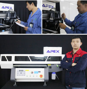 Hot Sale Flatbed Digital A2 UV4060 LED Pen Printer Manufacture pictures & photos