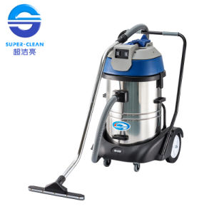 60L Two Motors Stainless Steel Wet and Dry Vacuum Cleaner pictures & photos