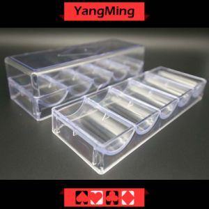 Transparent Acrylic Chips Case (YM-CT07) pictures & photos