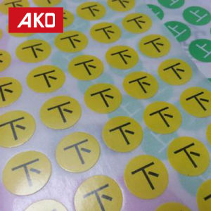 BPA Free Low Price New Design Portable Round Piece Self-Adhesive Sticker Label pictures & photos