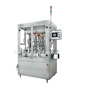 Horizontal Pneumatic Ointment Filler 50-500ml Filling Capacity pictures & photos