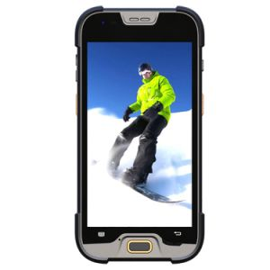 5 Inch Handheld Terminal Rugged Smartphone with 1/2D Barcode Scanner pictures & photos