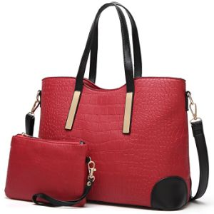 2017 Hot Sell Leather Tote Handbag Ladies Fashioonable Handbag pictures & photos