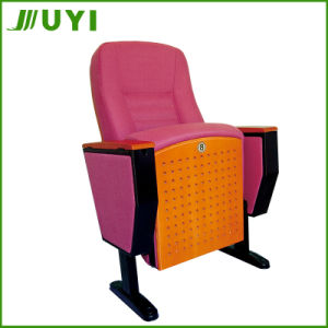 China Manufactory Price Fabric Wooden Chair Auditorium Seat Jy-998t pictures & photos