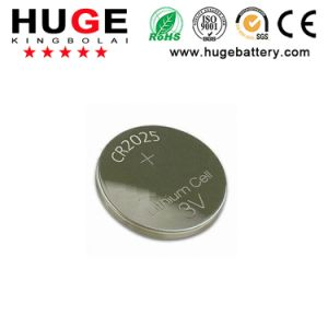 3V Cr2025 Lithium Button Cell Battery Remote Contral Manufacturer pictures & photos