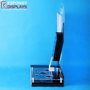 Customized Countertop Acrylic Cosmetics Display Stand with Beautiful Design pictures & photos