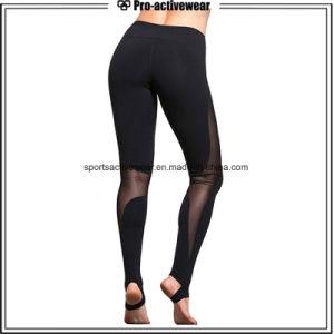 OEM Polyester Spandex Sublimation Women Wholesale Yoga Fitness Leggings pictures & photos