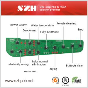 Custome Electronic Bidet 1.6mm PCB PCBA pictures & photos