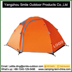 2 Person Double Layer Camping Tent Dropshipping Plastic Tent pictures & photos