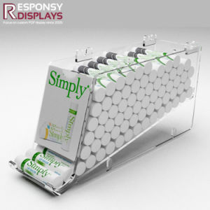 Creative Acrylic Display Rack That Automatically Transfers Food or Drink pictures & photos