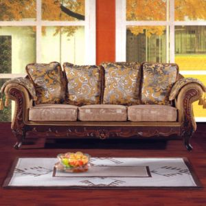 Living Room Furniture with Wood Sofa Set (92) pictures & photos