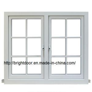 White Heat Insulation Aluminum Casement Window pictures & photos