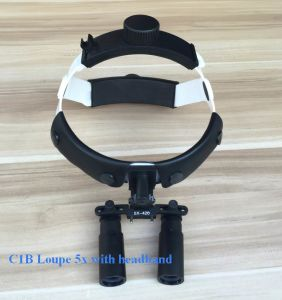Kepler Prism Surgical Headband Loupes 6X pictures & photos