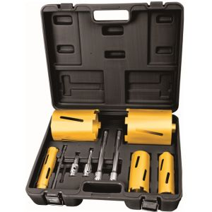 7PCS Carbide Grit Power Tools Accessories Diamond Hole Saw Set pictures & photos