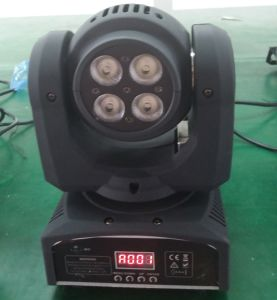 1X10W 4X10W RGBW 4in1 Double Sided LED Moving Head Light pictures & photos