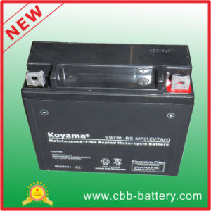 12V7ah Yb7bl-BS-Mf Sealed Maintenance Free Motorcycle Battery pictures & photos