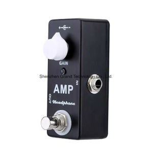 AMP Headphone Mini Guitar Effect Pedal (JF-87) pictures & photos