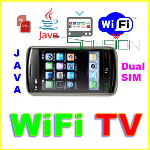 WiFi TV Movil Celulares Dual SIM, JAVA F006