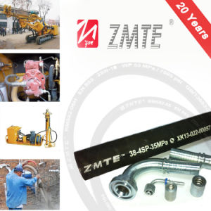 Wire Spiral En856 4sp Mine Hydraulic Support Hose pictures & photos