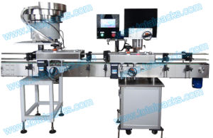 Linear Four Wheels Capping Machine for Bottles and Jars with Screw Thread Caps (CP-300A) pictures & photos