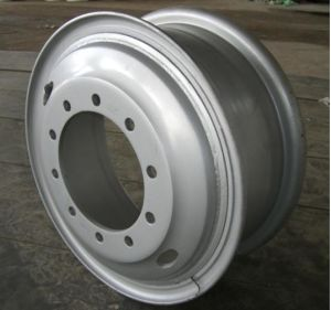 High Quality Steel Wheel for Trucks (8.5-24) pictures & photos