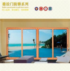 Aluminium Sliding Thermal Break Double Glazed Doors C/W (pH-8803) pictures & photos