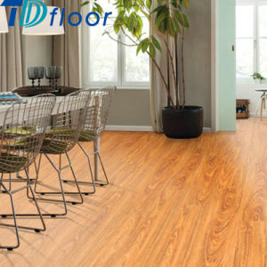 Wood Color Luxury Vinyl Tile Click Glue Down PVC Vinyl Flooring pictures & photos