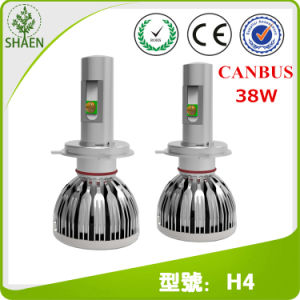 38W 5000lm 6000k 12V 24V S15 Canbus Car LED Headlight pictures & photos