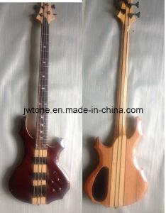 Onr Piece Neck Through Body Bass Guitar pictures & photos
