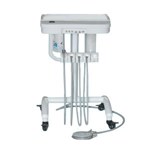 Movable Dental Unit Instrument Tray for Dental Treatment