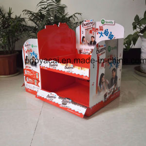 Creative 2-Sided Chocolate Countertop Display, Paper Display Stand for Chocolate pictures & photos