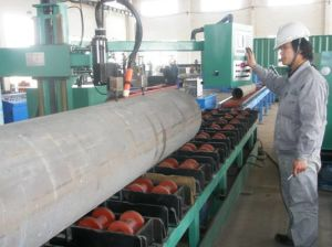 Roller-Bench-Type Pipe Plasma Beveling & Cutting Machine pictures & photos