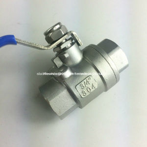 Turkey Type Stainless Steel 2PC Ball Valve with DIN pictures & photos