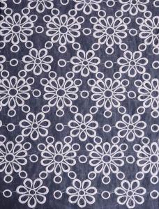 Organza Lace Fabric W002306A